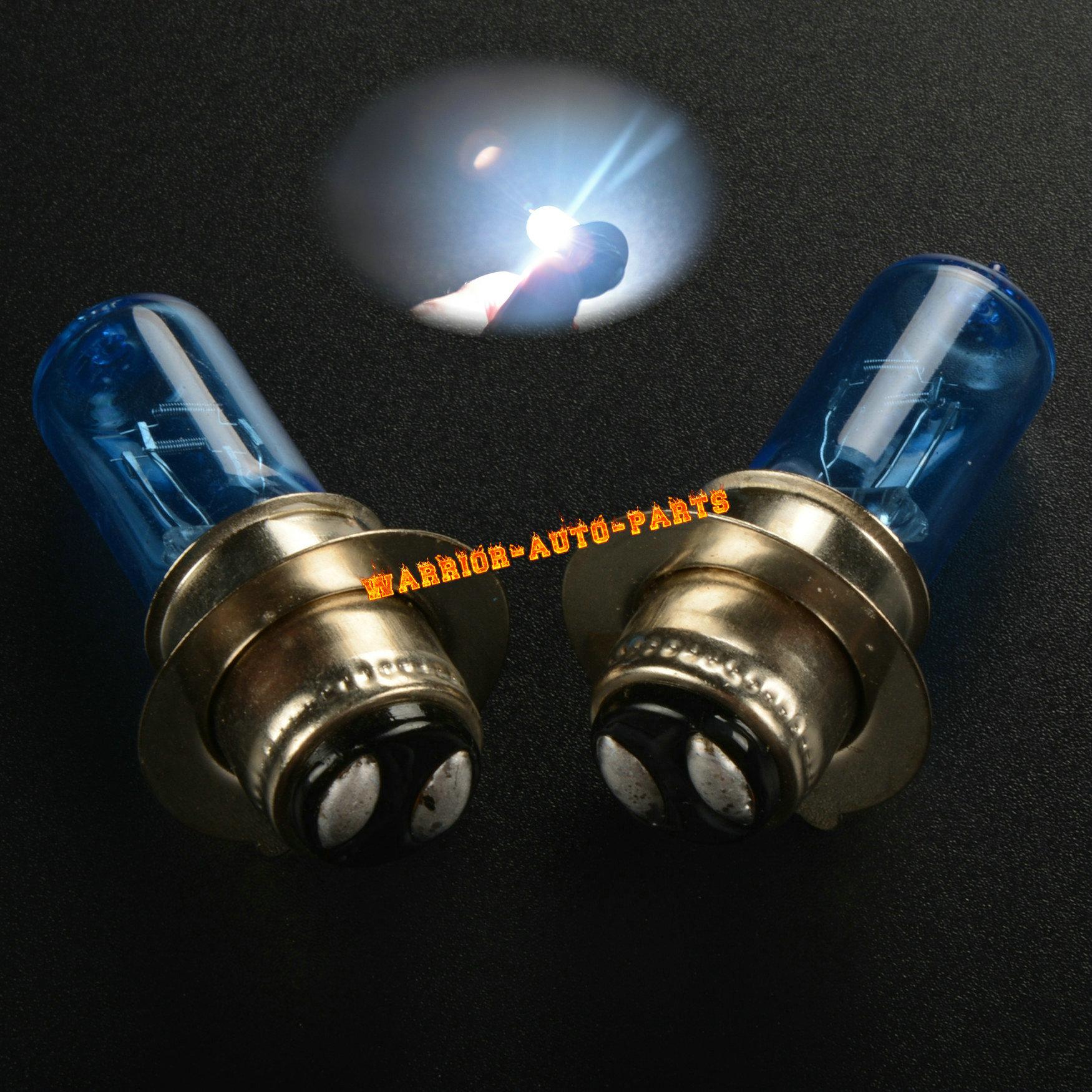 For Suzuki LT-4WD Quadrunner ATV Halogen Headlight Bulbs 35W 1989 1990 1991 2PCS