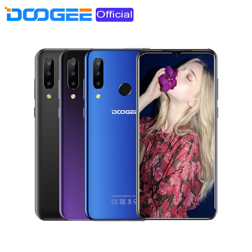 "Android Phone - 6.3"" 4G Smartphone Android 9.0 Unlocked 4+64GB Octa Core Dual SIM DOOGEE Y9 Plus"