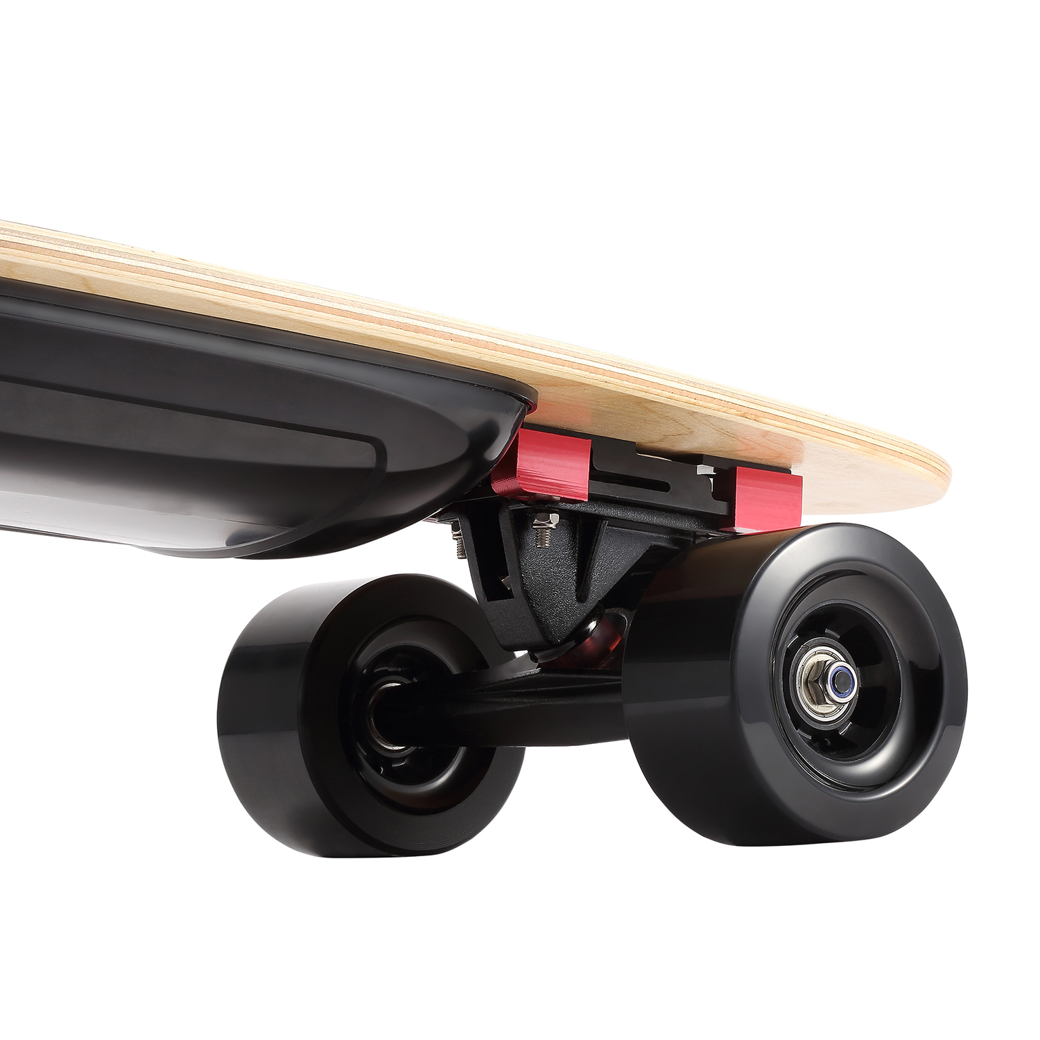 20km h schwarz 36v komplettes elektro skateboard longboard. Black Bedroom Furniture Sets. Home Design Ideas