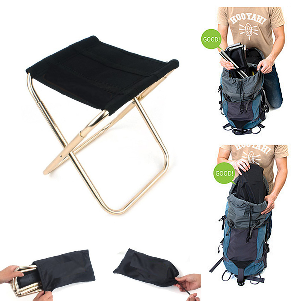 Fantastic Details About New Portable Folding Mini Camping Chair Aluminum Outdoor Fishing Picnic Seat Bag Pdpeps Interior Chair Design Pdpepsorg