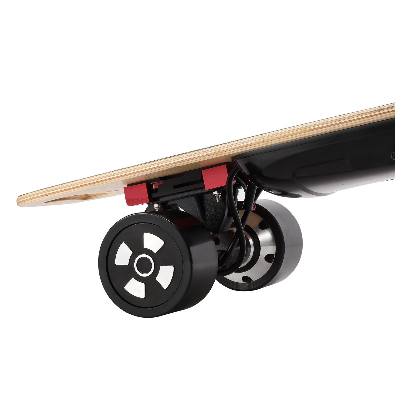 20km h schwarz 36v komplettes elektro skateboard longboard. Black Bedroom Furniture Sets. Home Design Ideas