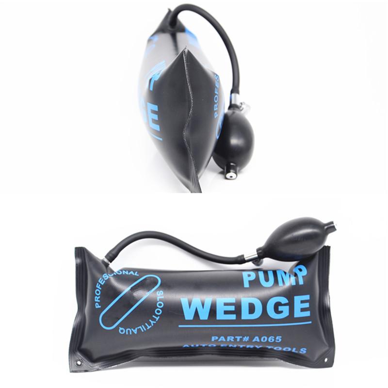 3x Air Wedge Alignment Tool Inflatable Shim Air Cushioned Powerful Hand Pump Kit
