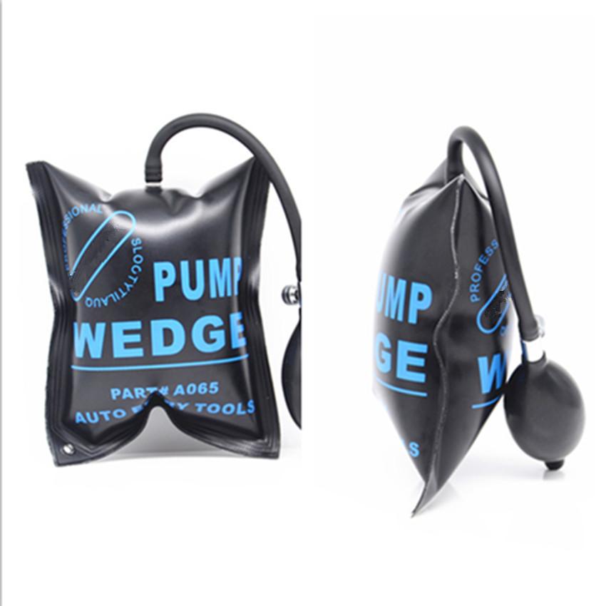 3x Car Pump Wedge Inflatable Shim Air Bag Open Door Dent