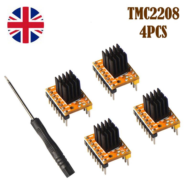 TMC2130 Stepper Motor Driver Module con disipador de calor 3D Printer Stepper Driver 3D Printer Part Replacement
