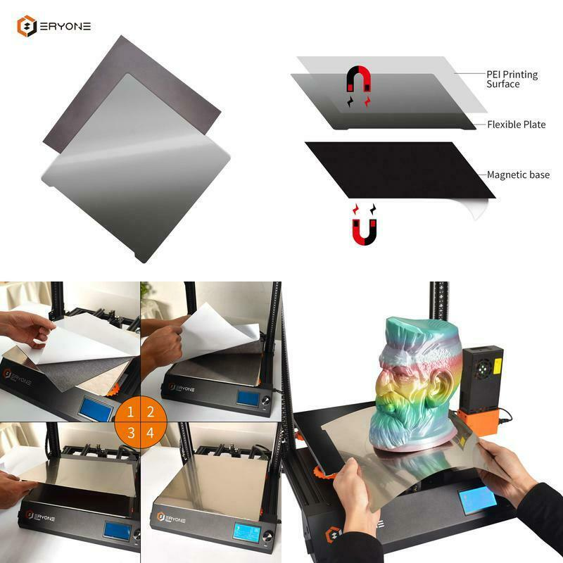 235mm 3D Printer Magnetic Flexible Build  Print Surface for 3D Printing 235