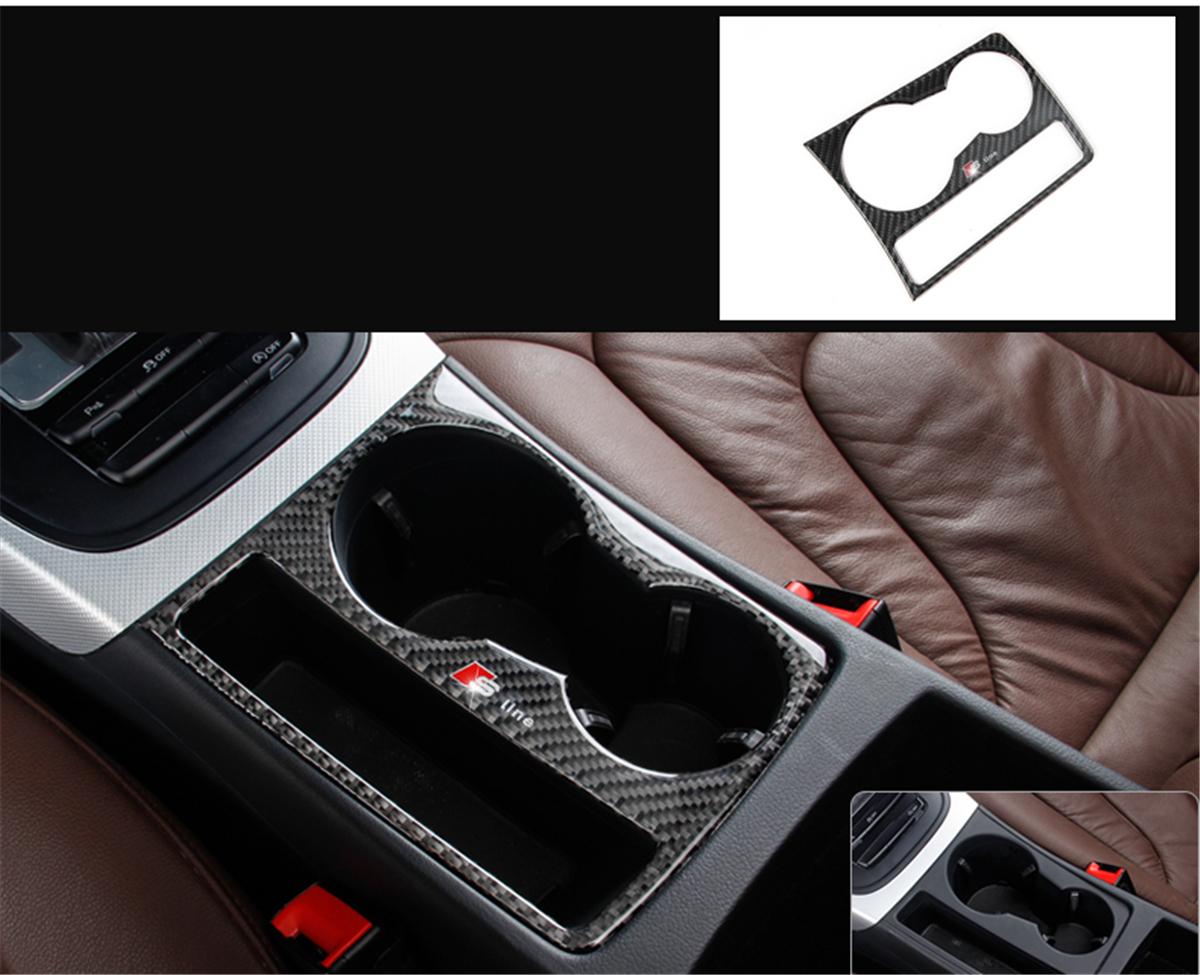 Carbon Fiber Interior Door Window Regulator Cover Trim for AUDI A3 S3 L05