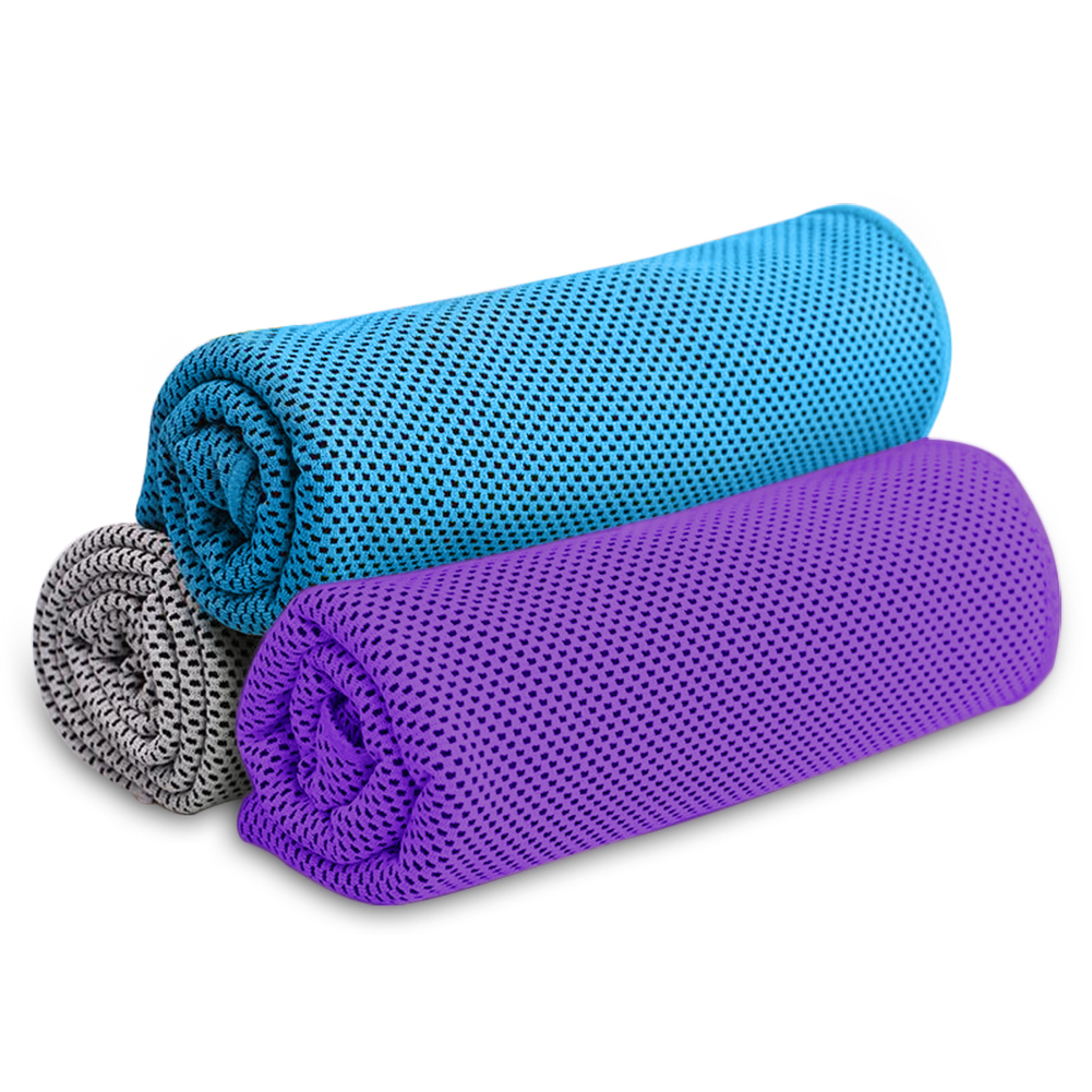 Gym Way 2 Cool Microfiber Cooling Towel for Yoga Swimming and Gargening