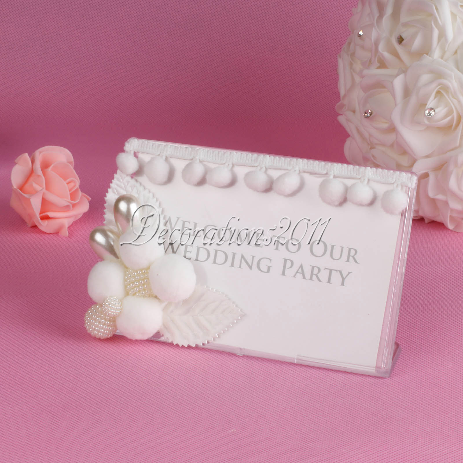 Wedding Board Photo Picture Frame Free Standing Party Props ...