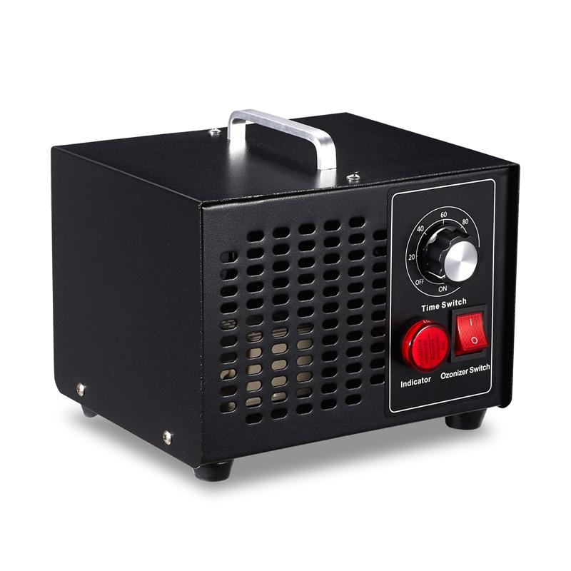 Eline 220V 10 G//H O3 Ozonizador Generador De Ozono M/áquina Purificador De Aire Limpiador De Aire Desodorante Desinfectante con Interruptor De Sincronizaci/ón