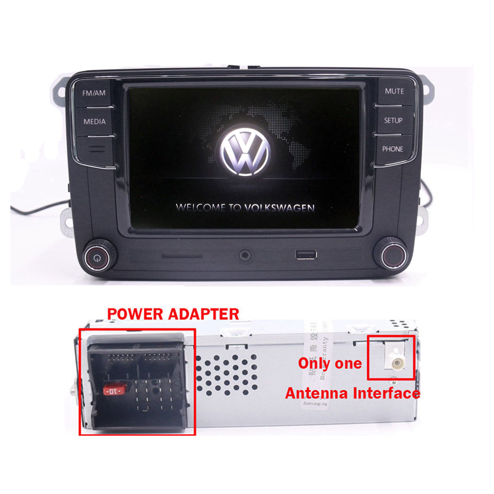 6 5 autoradio rcd330g mirrorlink bluetooth usb aux vw. Black Bedroom Furniture Sets. Home Design Ideas