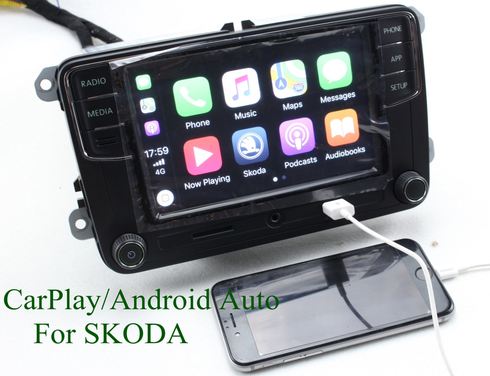 car stereo radio rcd330 carplay mirrorlink android auto bt. Black Bedroom Furniture Sets. Home Design Ideas