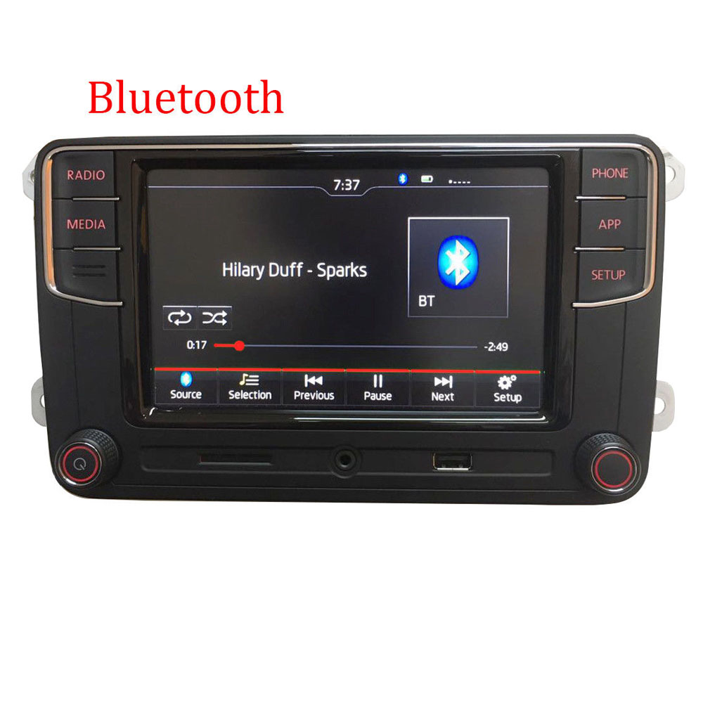 car stereo rcd330 carplay android auto bt aux rvc for vw. Black Bedroom Furniture Sets. Home Design Ideas