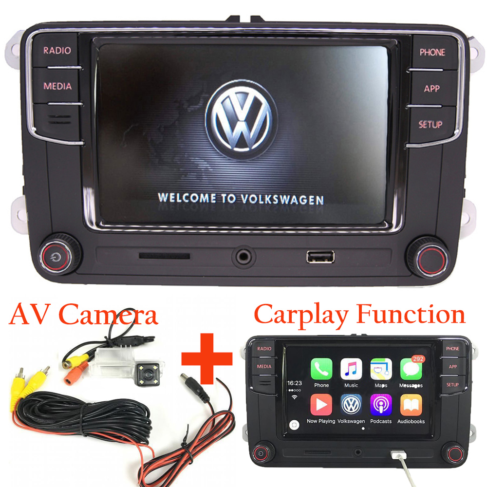 6 5 vw autoradio rcd330 rvc kamera carplay mirrorlink bt. Black Bedroom Furniture Sets. Home Design Ideas