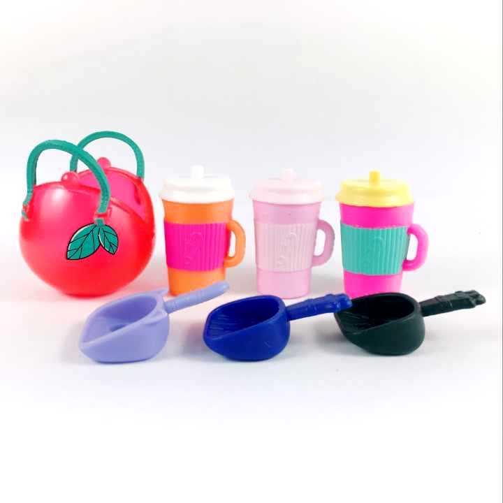random 20Pcs Accessory for LOL Surprise Pets Sun glasses hat Shovel toy kid gift