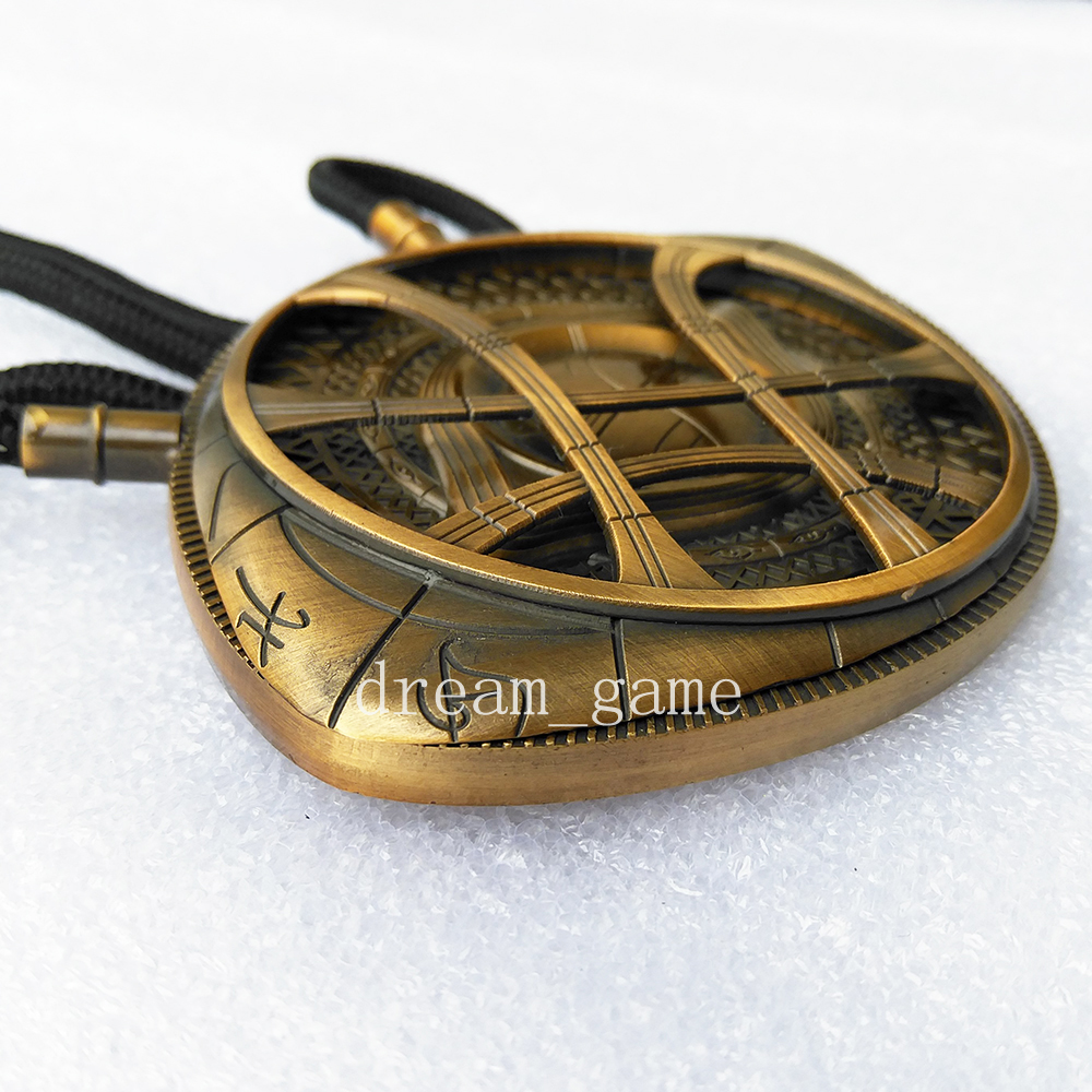 Dr doctor strange eye of agamotto amulet antique bronze pendant dr doctor strange eye of agamotto amulet antique bronze pendant necklace cosplay aloadofball Gallery