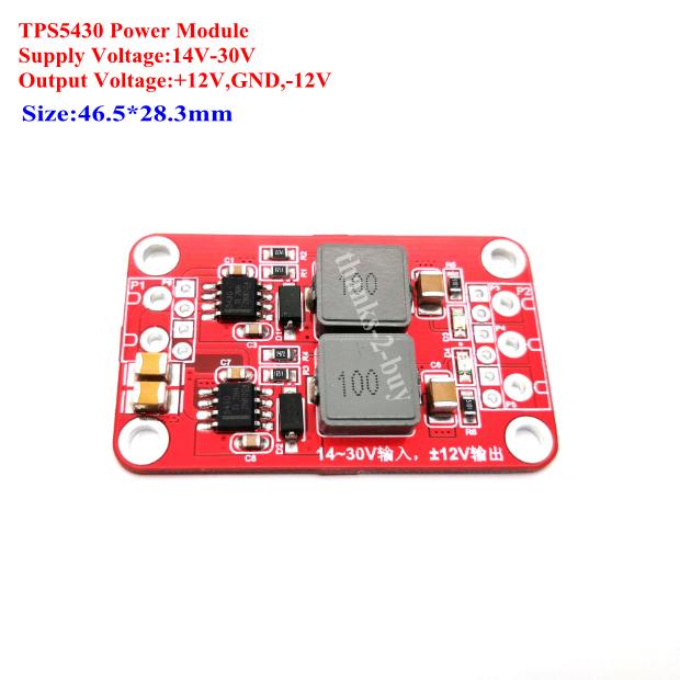 TPS5430 DC5.5V-36V To DC 2V-30V3A Adjustable Power Supply Module