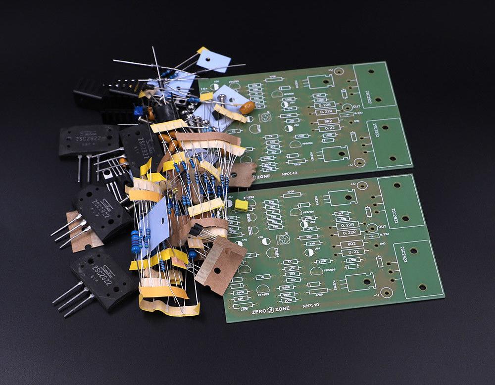 one pair Clone NAIM NAP140 Amplifier bare PCB 70W *2 Power Amp Module