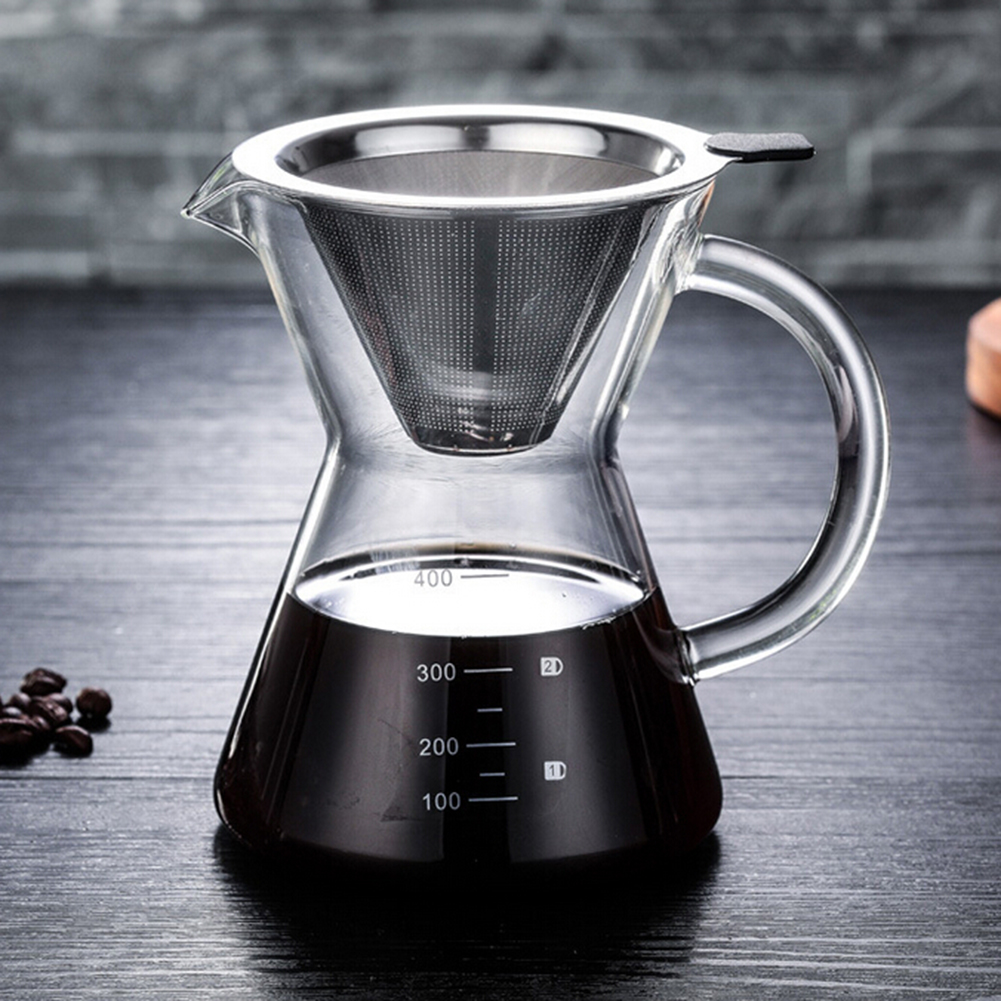 Stainless Steel Manual Drip Coffee Maker - The Coffee Table