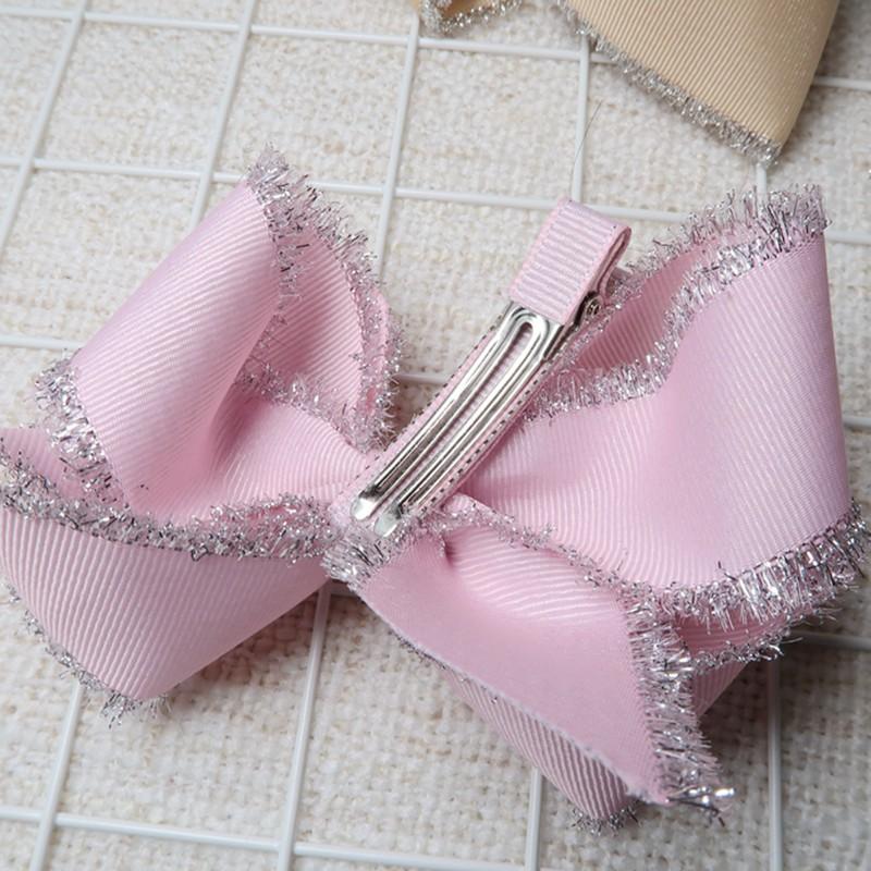 10//100Yards Reels of Grosgrain Ribbon with Silver thread Width 20mm wrap Bow DIY