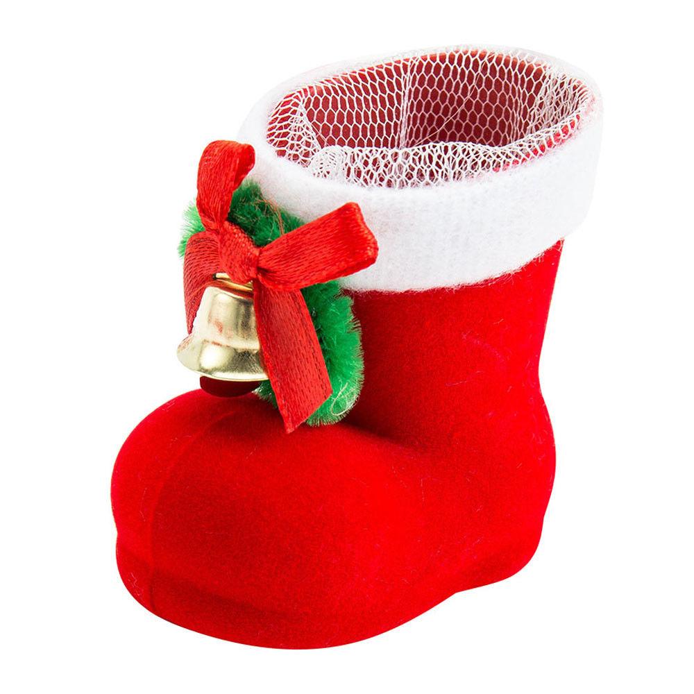 10x nikolausstiefel zum bef llen weihnachtsstiefel deko. Black Bedroom Furniture Sets. Home Design Ideas
