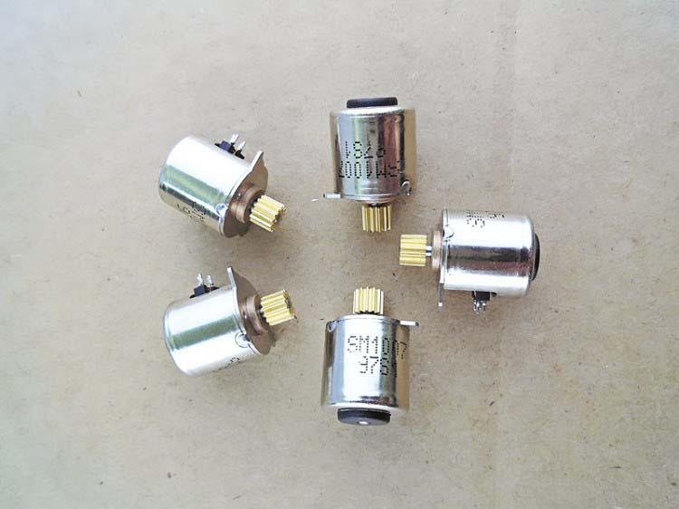 10 PCS 10MM Small Stepper Motor With Copper Gear