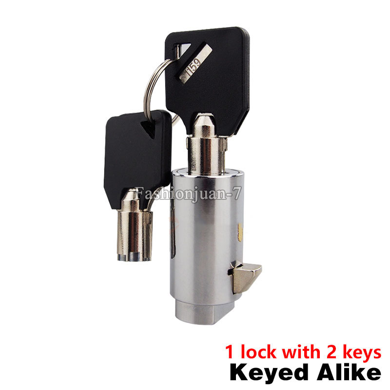 Universal Replacement Plug Lock for Soda Snack Vending Machine With Keys