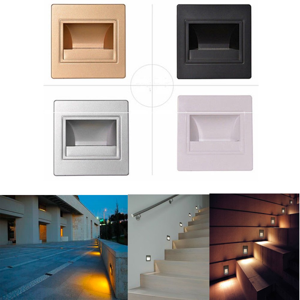 Led Stairs Footlight Wall Light For