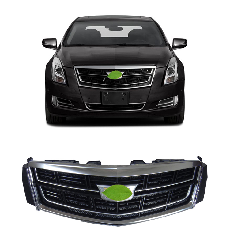 FOR Cadillac XTS 2016-2017 Chrome Front Bumper Center Mesh