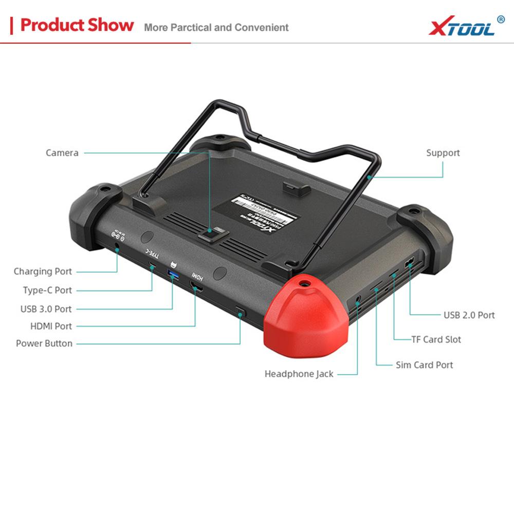 XTOOL PS90 Auto Diagnostic Tool OBD2 Immobilizer Key