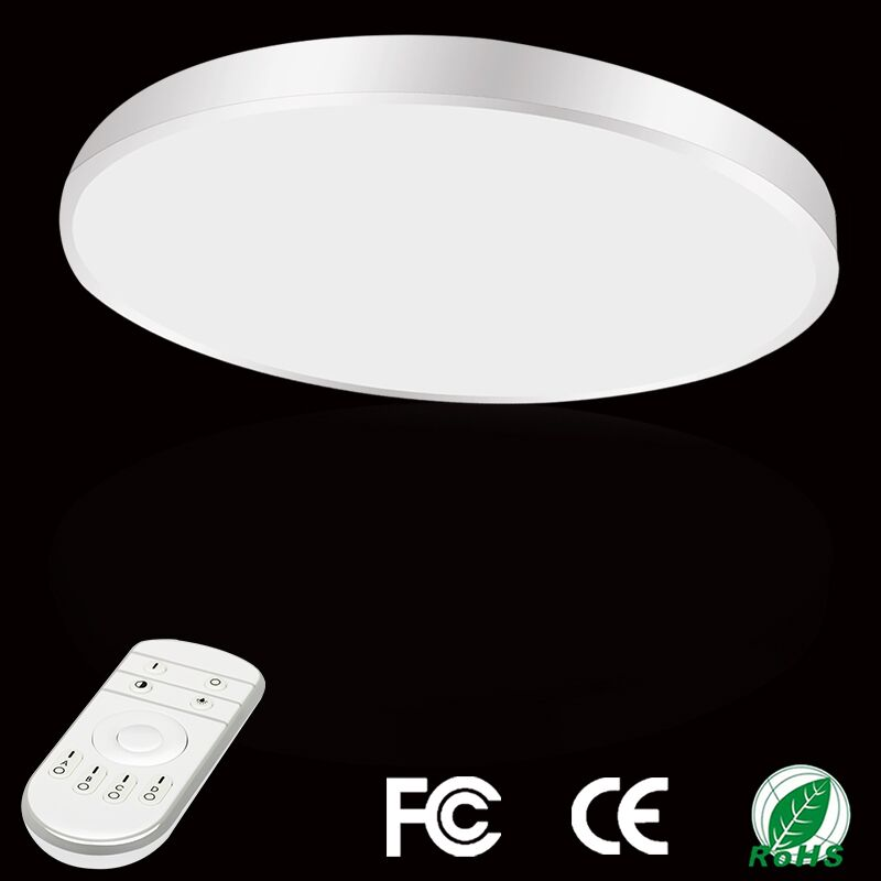 28w 36w Led Ceiling Light Dimmable Ultra Thin Flush Mount Bathroom