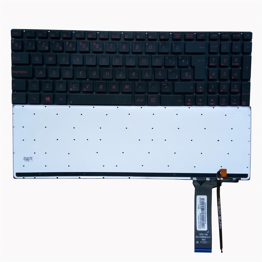 For Asus N56J N56JR N56V N56VM N56DP N76VJ N76VM Keyboard Hungarian HU Backlit