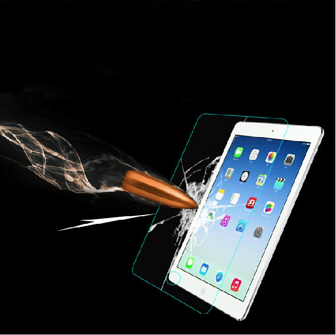Curved Premium 9H Screen Slim Tough Tempered Gorilla Glass for iPad Pro 12.9/""