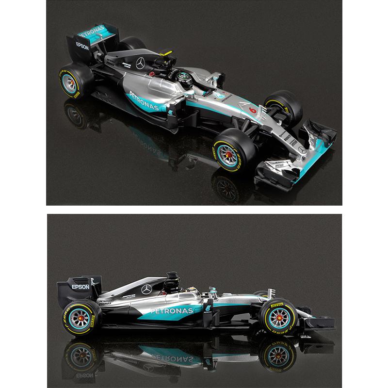 1//18 BBURAGO 18001 Benz F1 W07 Hybrid Racing Diecast Model Car No.44