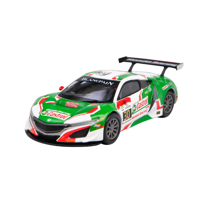 MINI GT 1:64 Honda Acura NSX GT3 #30 CASTROL 24H Of Spa
