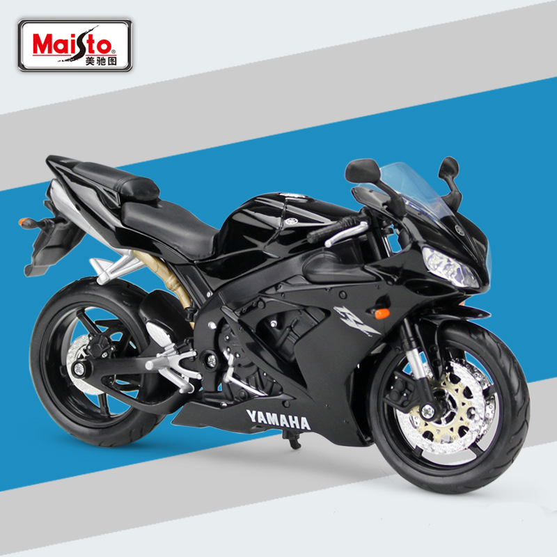 Details About Maisto 31102 1 12 Scale Yamaha Yzf R1 Motorcycle Diecast Model With Case Toy