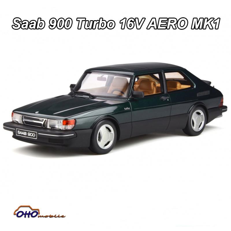Otto ot875 Saab 900 turbo 16v Aero mk1 nuevo 1:18 1984