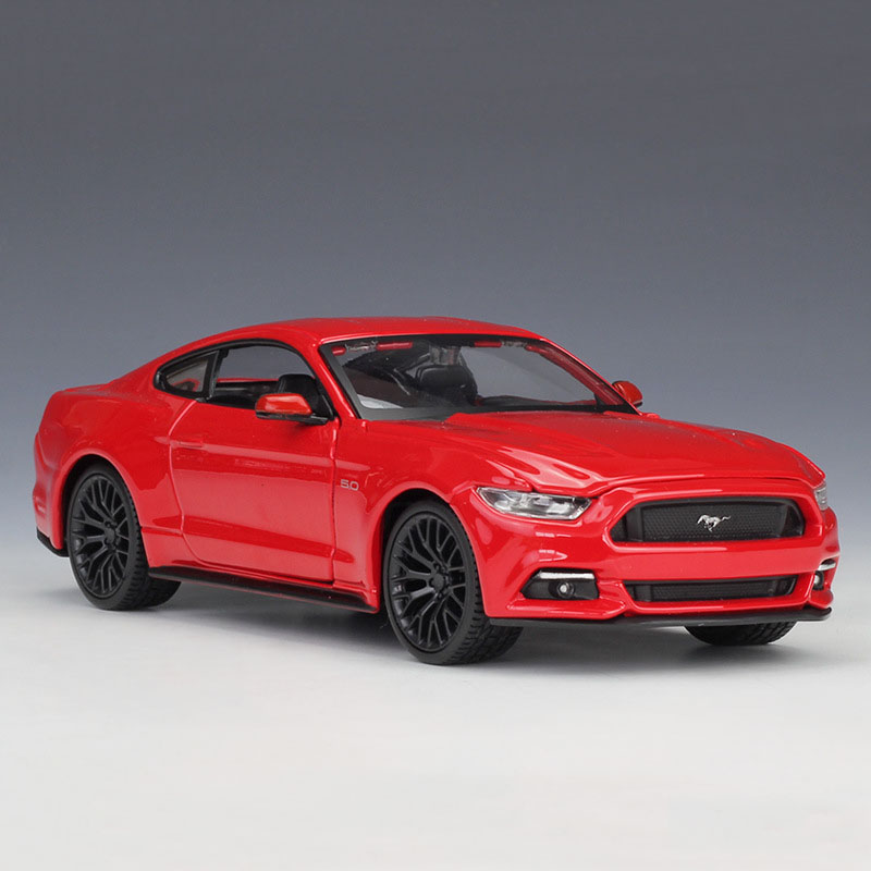 Maisto 1:24 Scale Ford Mustang GT 2015 Red Samples Diecast