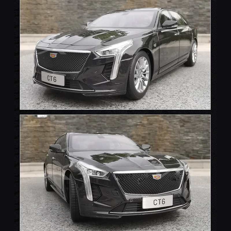 New Cadillac Ct6 >> Details About 2019 New Cadillac Ct6 Metal Diecast Car Original 1 18 Scale Model Collection