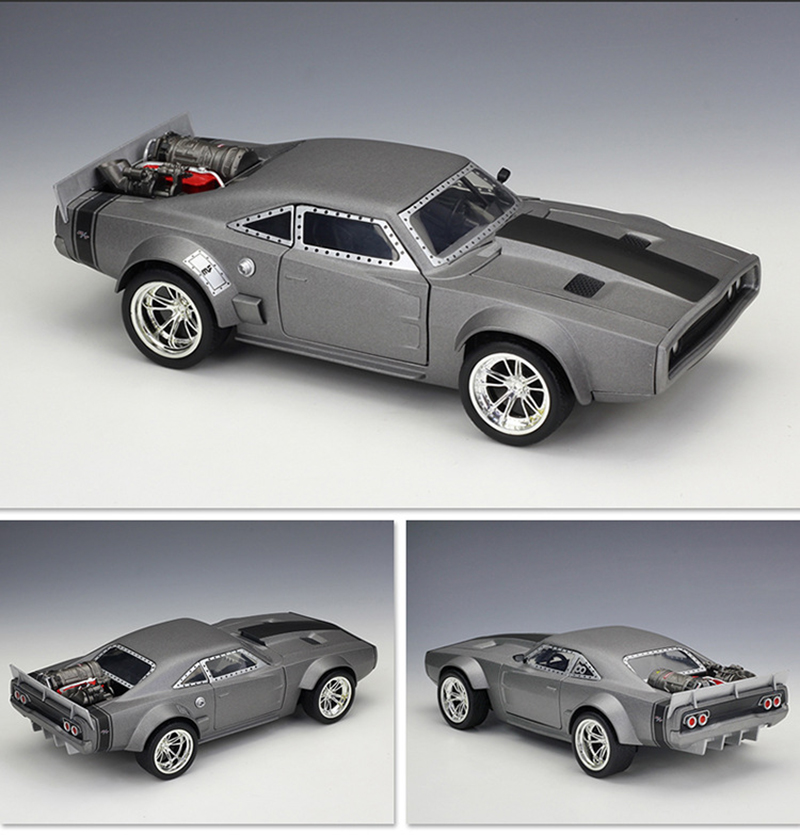 Dodge Ice Charger >> Details About Fast Furious Jada 98291 1 24 Dodge Ice Charger Diecast Car Model Toy With Case