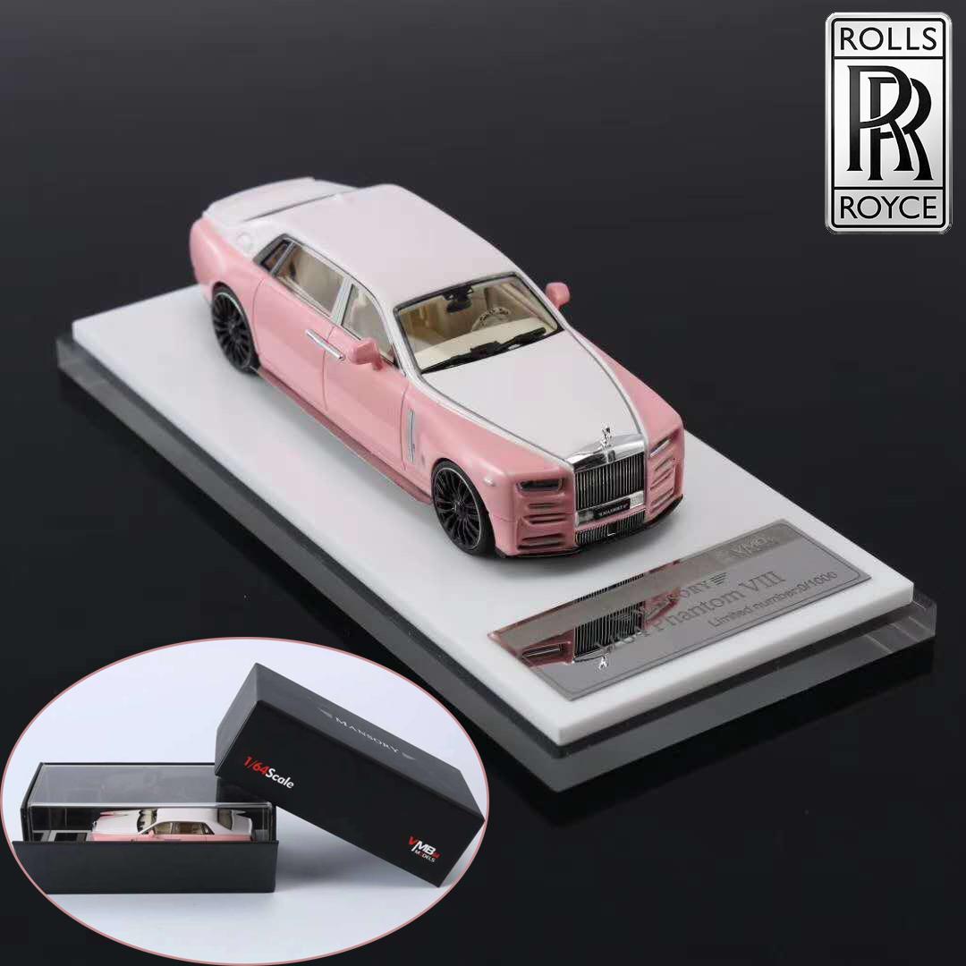 Mansory Vmb 1 64 Rolls Royce Phantom Viii Resin Car Model Limited Collection Ebay