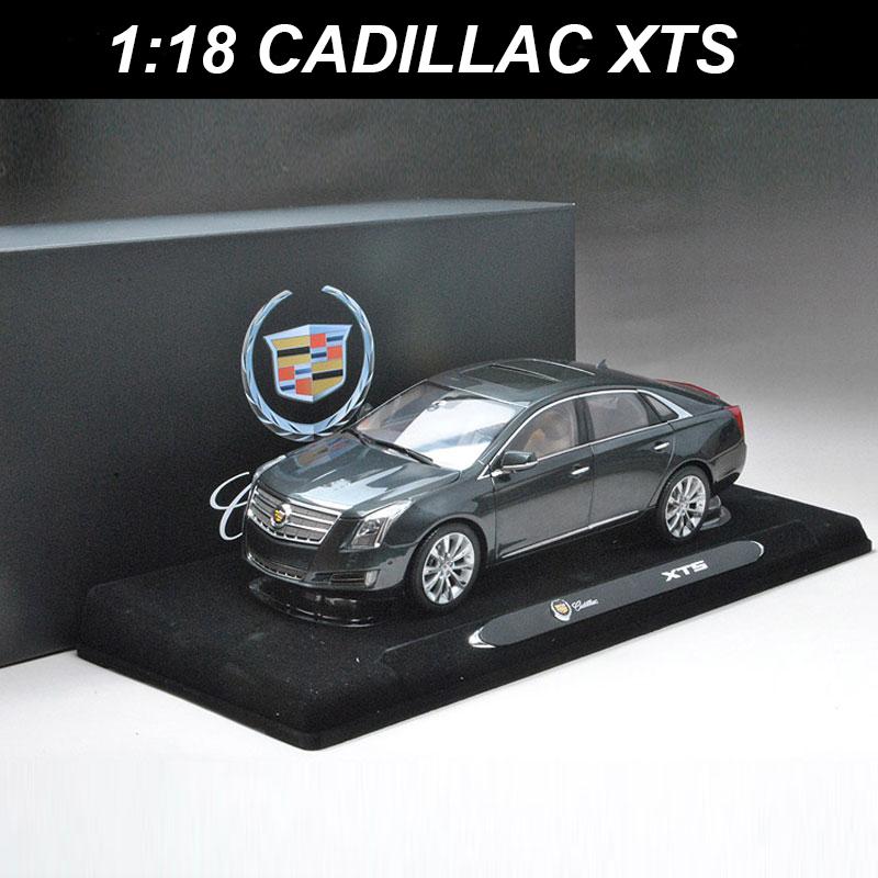 Grey SMALL GIFT!!!!!!!!!!! Car Model Cadillac XTS 2014 1:18