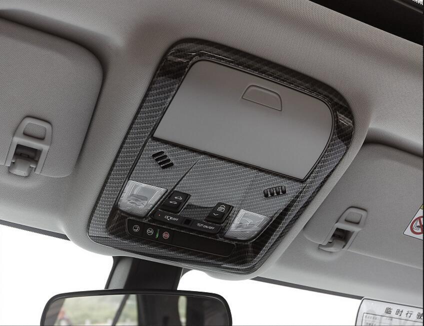 1Pcs Carbon Fiber Front Reading Light Cove Trim  2018 for Chevrolet Equinox