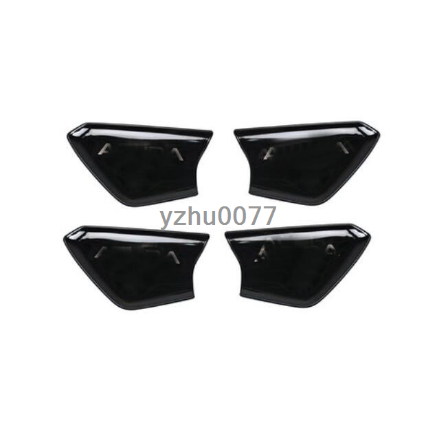 2019 For Acura RDX Bright Black Stainless Steel Inner Door