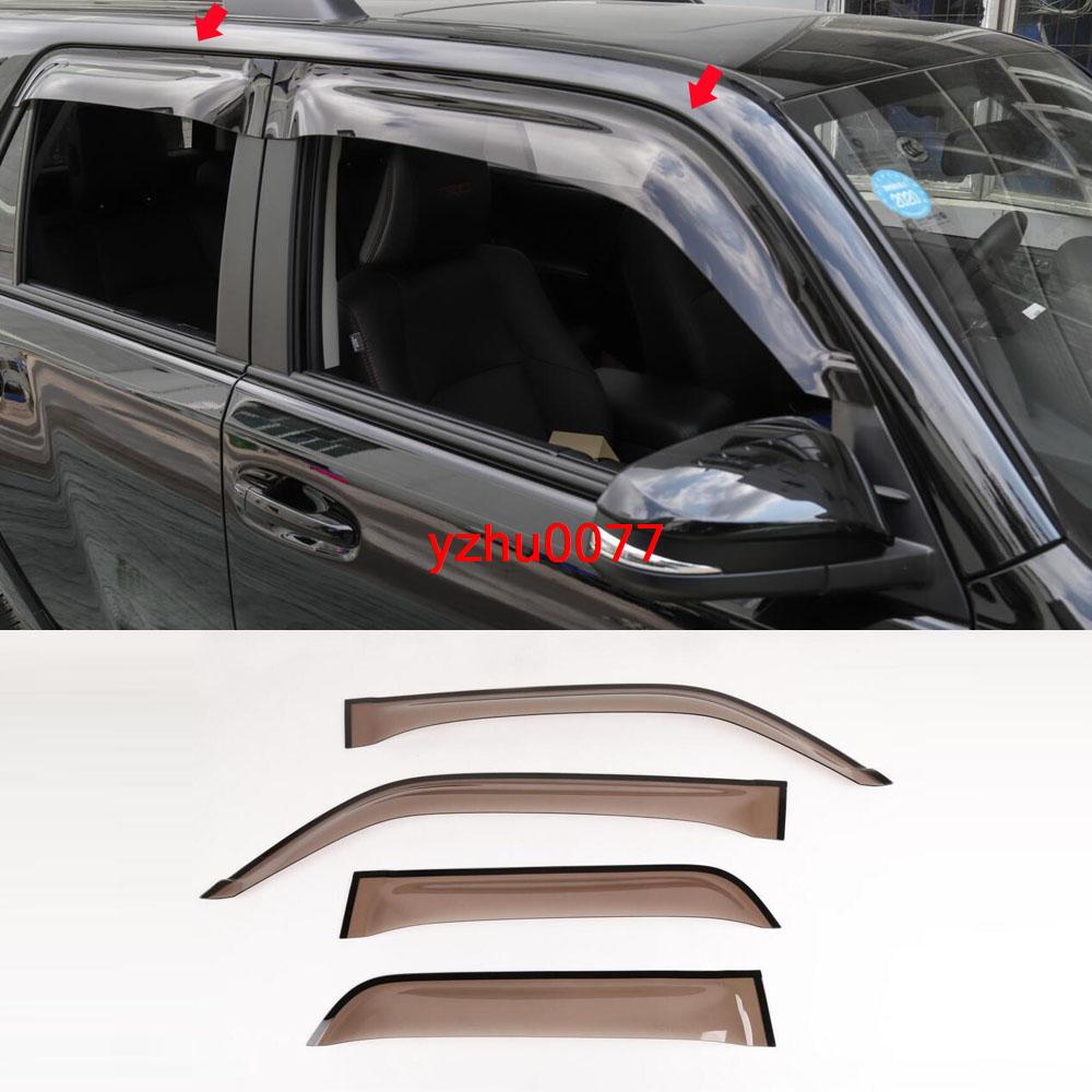 Vent Window Visors Rain Guard Out-Channel 2.0mm BMW 525i 528i Wagon 99-03 4pcs