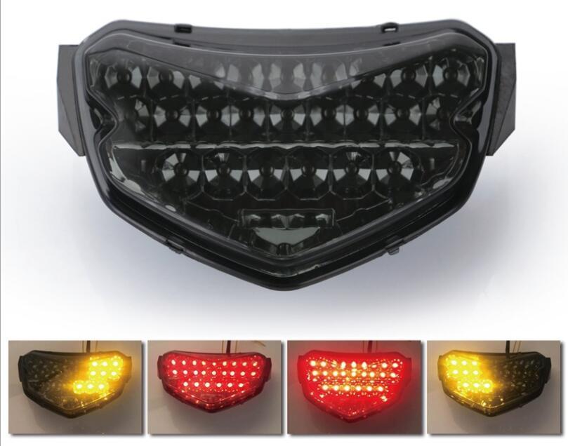 Rear Brake Turn Signal Light Taillight LED For Suzuki GSXR600 GSXR750 K6 K7 06-7