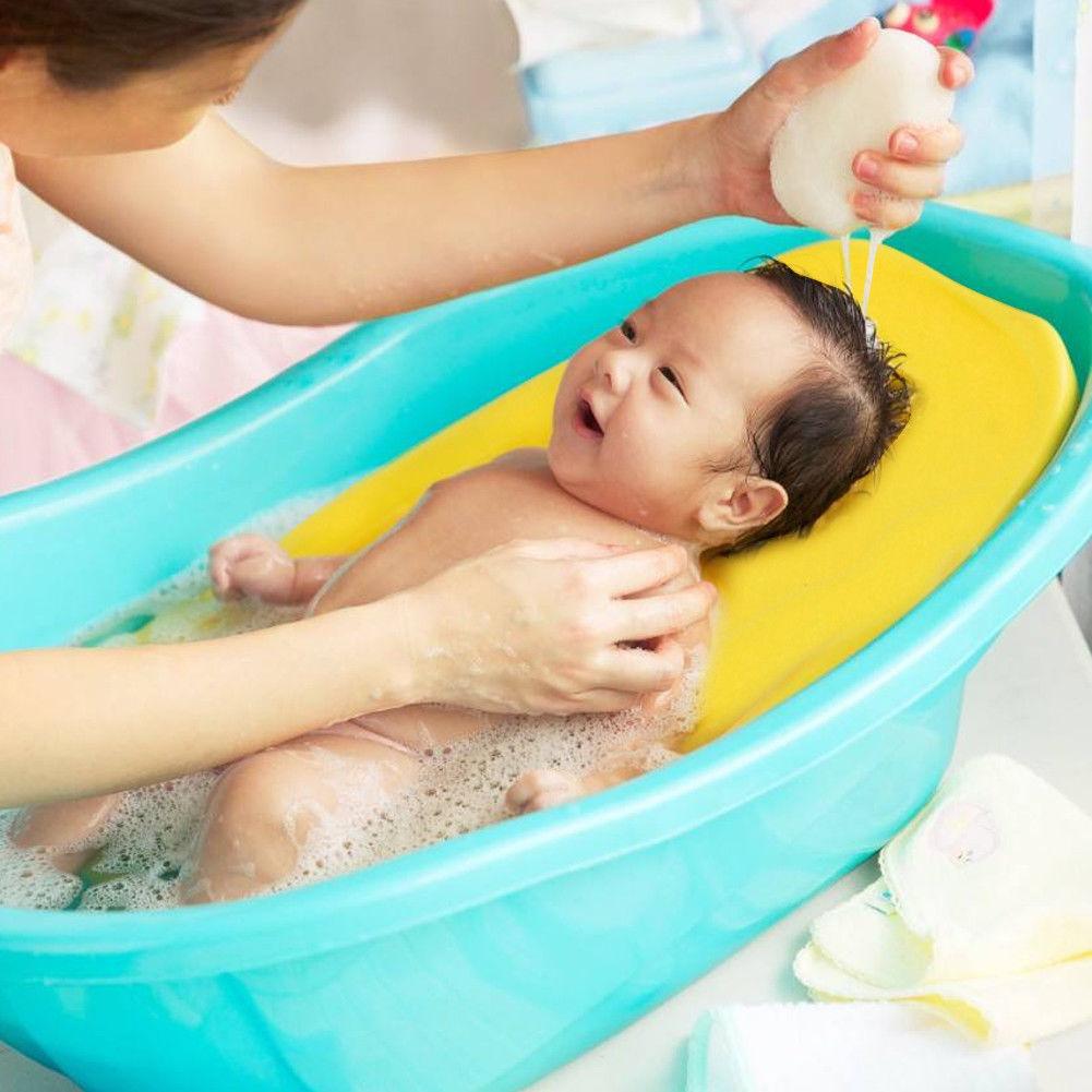 Newborn Baby Soft Bath Tub Pillow Pad Air Cushion Floating Seat ...