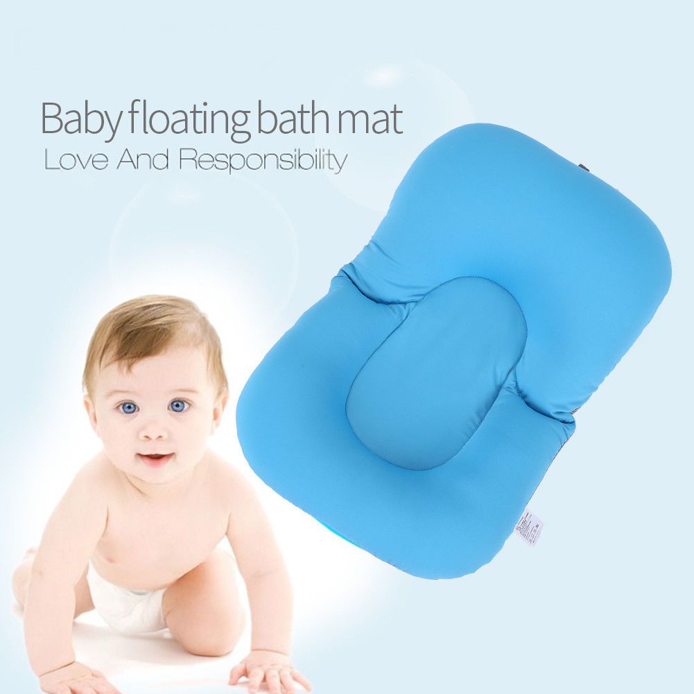 Newborn Baby Toddler Infant Soft Seat Tub Bath Floating Air Cushion ...