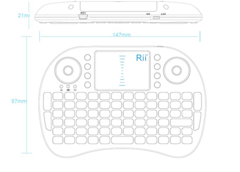 Rii mini keyboard manual