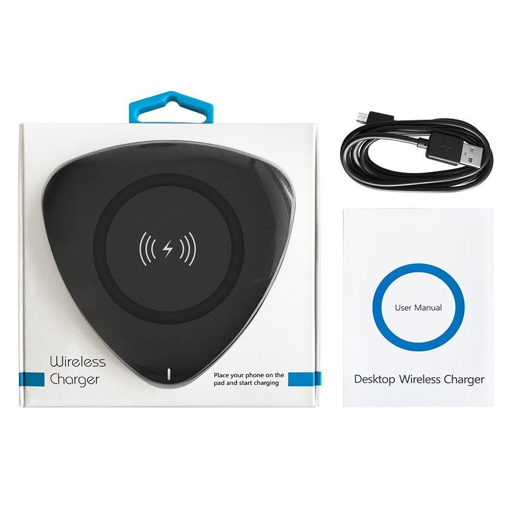 simpeak drahtloses ladeger t 5w qi wireless ladeger t f r. Black Bedroom Furniture Sets. Home Design Ideas