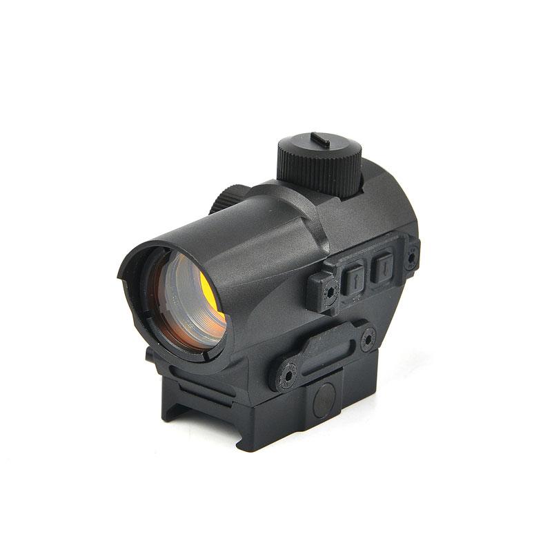 D10 Red Dot Reflex Sight 1 5 MOA Manual Key Switch 20mm
